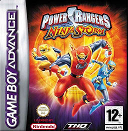 <i>Power Rangers Ninja Storm</i> (video game) 2003 video game