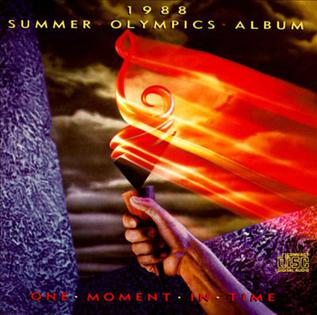 1988 Summer Olympics Album One Moment In Time Wikipedia