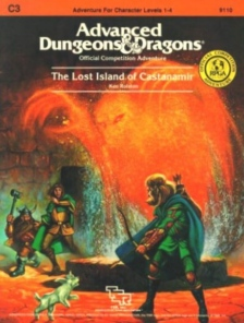 <i>The Lost Island of Castanamir</i> Advanced Dungeons & Dragons adventure module