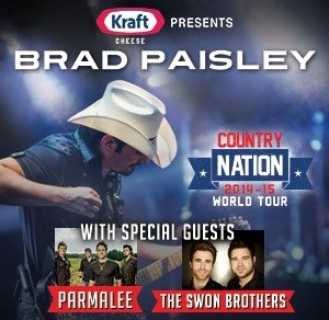 Brad Paisley Tour Virginia Beach