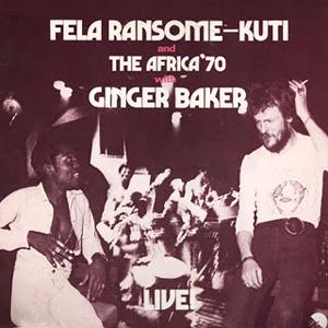 <i>Live!</i> (Fela Kuti album) 1971 live album by Fela Ransome-Kuti and The Africa 70 with Ginger Baker