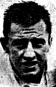 A headshot of Dewar from a newspaper