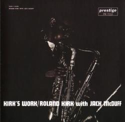 <i>Kirks Work</i> 1961 studio album by Roland Kirk