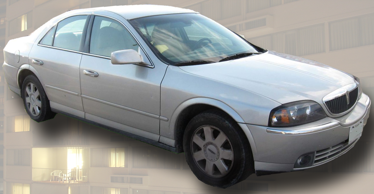 Lincoln LS · Lincoln LS.png Facelifted Lincoln LS