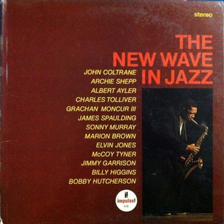 <i>The New Wave in Jazz</i> 1965 live album by Various
