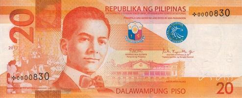 Philippine twenty peso note - Wikipedia