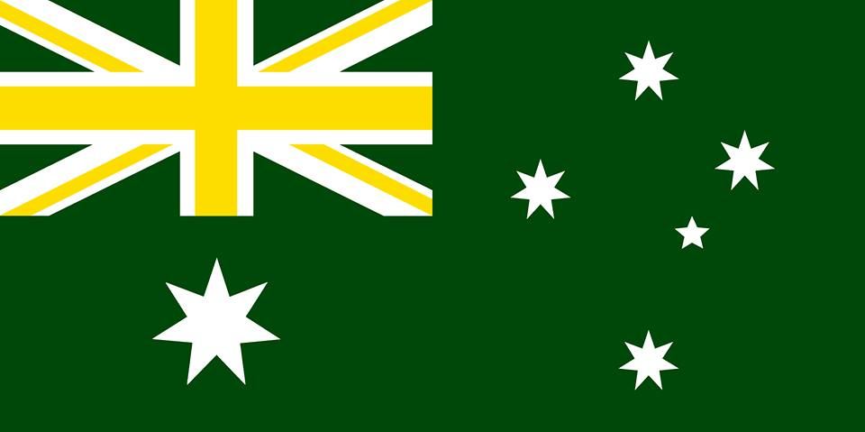 the new australian flag The australian and new zealand flags are similar as they both have the british union flag in the top left quadrant and have a blue background, but the.