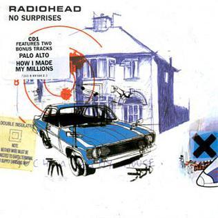 No Surprises 1998 single by Radiohead