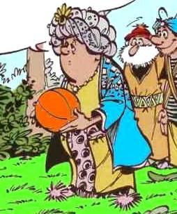 Haroun El Poussah Character in the Iznogoud comics series