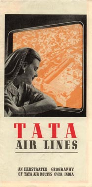 File:Tata Air Lines' Airline Timetable Image, October 1939 (exterior).jpg