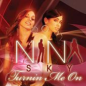 Turnin Me On (Nina Sky song) 2004 single by Nina Sky