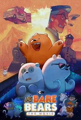 Picture of a movie: We Bare Bears The Movie