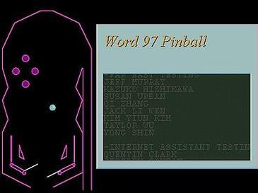 Word97pinball | GrecTech