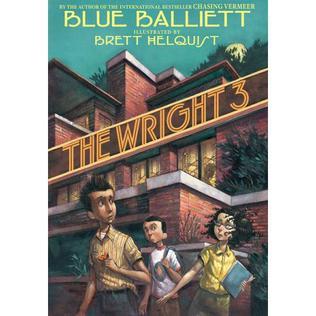 <i>The Wright 3</i> book by Blue Balliett