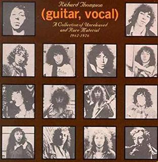 <i>(guitar, vocal)</i> 1976 compilation album by Richard Thompson