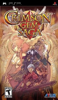 Crimson Gem Saga PSP