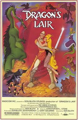 Picture of a game: Dragon's Lair
