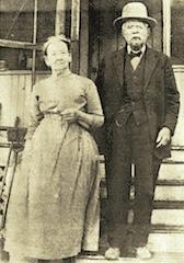 John and Elizabeth Tallman Early settlers of Colorado in 1866