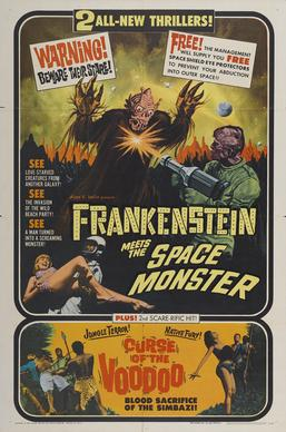 Frankenstein Meets the Spacemonster movie