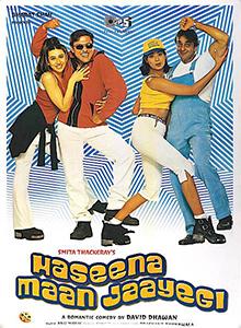 <i>Haseena Maan Jaayegi</i> 1999 Indian film directed by David Dhawan