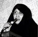 Khadijeh Saqafi Iranian revolutionary