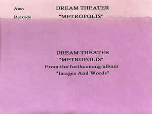 """Metropolis—Part I: """"The Miracle and the Sleeper"""" Dream Theater song"""