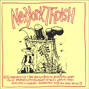 <i>New York Thrash</i> 1982 compilation album by various artists