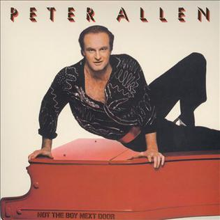 <i>Not the Boy Next Door</i> 1983 studio album by Peter Allen