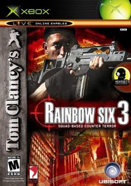 Cover Art for Rainbow Six 3 on the Xbox