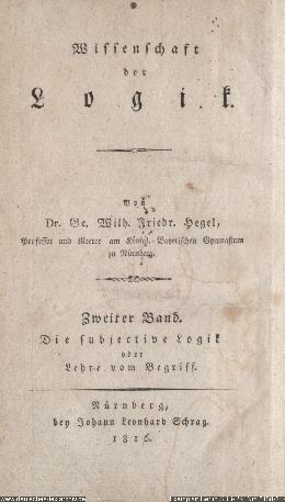 Title page of original 1816 publication