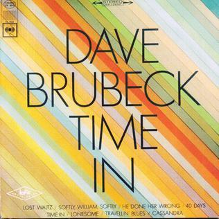 <i>Time In</i> (album) 1966 studio album by Dave Brubeck