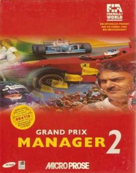 Box art for Grand Prix Manager 2