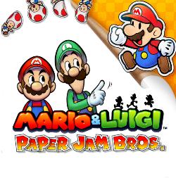 <i>Mario & Luigi: Paper Jam</i> 2015 video game