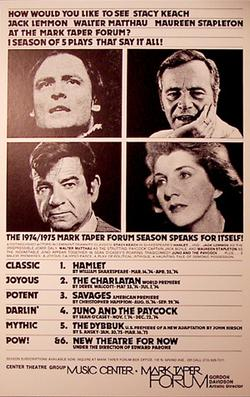 Poster for the 1974 season