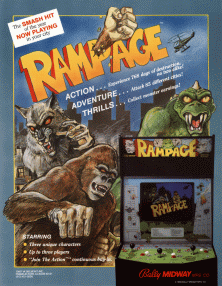 Rampage (video game) - Wikipedia, the free encyclopedia