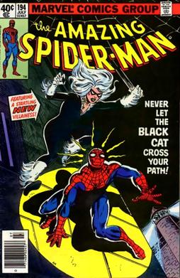 Black Cat Spectacular Spiderman Chrysler Building