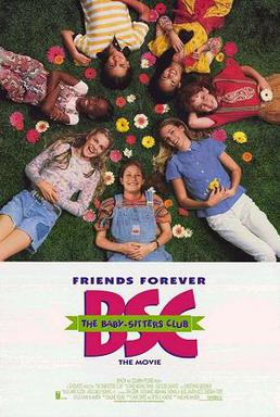 Film poster for The Baby-Sitters Club (film) -...