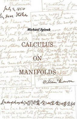 <i>Calculus on Manifolds</i> (book) book by Michael Spivak