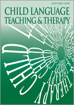 <i>Child Language Teaching and Therapy</i> journal