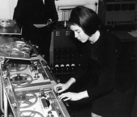 Delia Derbyshire at the BBC Radiophonic Workshop