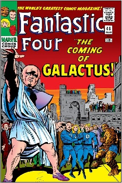 Fantastic Four #48 (Sept. 1966): The Watcher w...