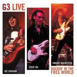 <i>G3: Rockin in the Free World</i> 2004 live album by Joe Satriani, Steve Vai and Yngwie Malmsteen