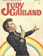 Judy Garland tribute magazine (1970). Cover artist unknown
