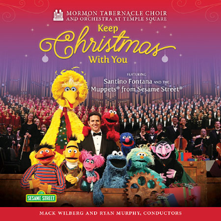 2015 live album by Mormon Tabernacle Choir featuring Santino Fontana and The Muppets from Sesame Street