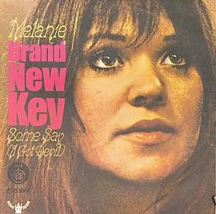 Cubra la imagen de la canción Brand New Key por Melanie Safka