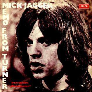 Memo from Turner 1970 single by Mick Jagger