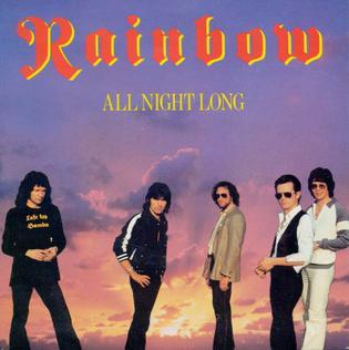 All Night Long (Rainbow song) 1980 single by Rainbow