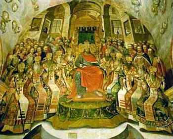 an analysis of the nicean creed of the council of nicea in constantinople History: from nicaea (325) to constantinople (381) the nicene creed was first  adopted at the first ecumenical council in 325, which was also the first council  of nicaea at that time, the text  interpretation of the greek text the original  creed.