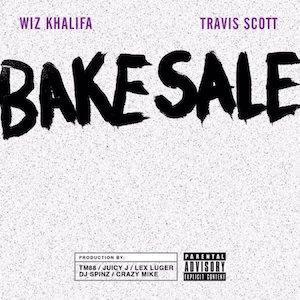 Wiz Khalifa featuring Travis Scott — Bake Sale (studio acapella)