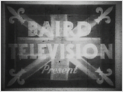 An early experimental television broadcast Baird experimental broadcast.jpg